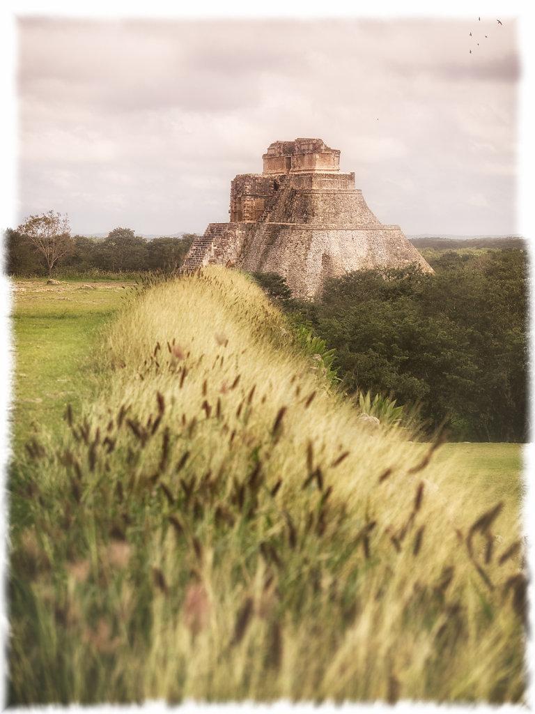 Magician's Pyramid in Uxmal