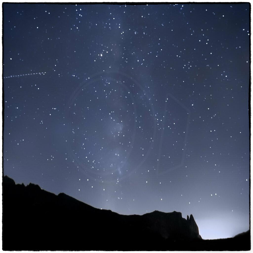 Alpe di Siusi Milky Way I
