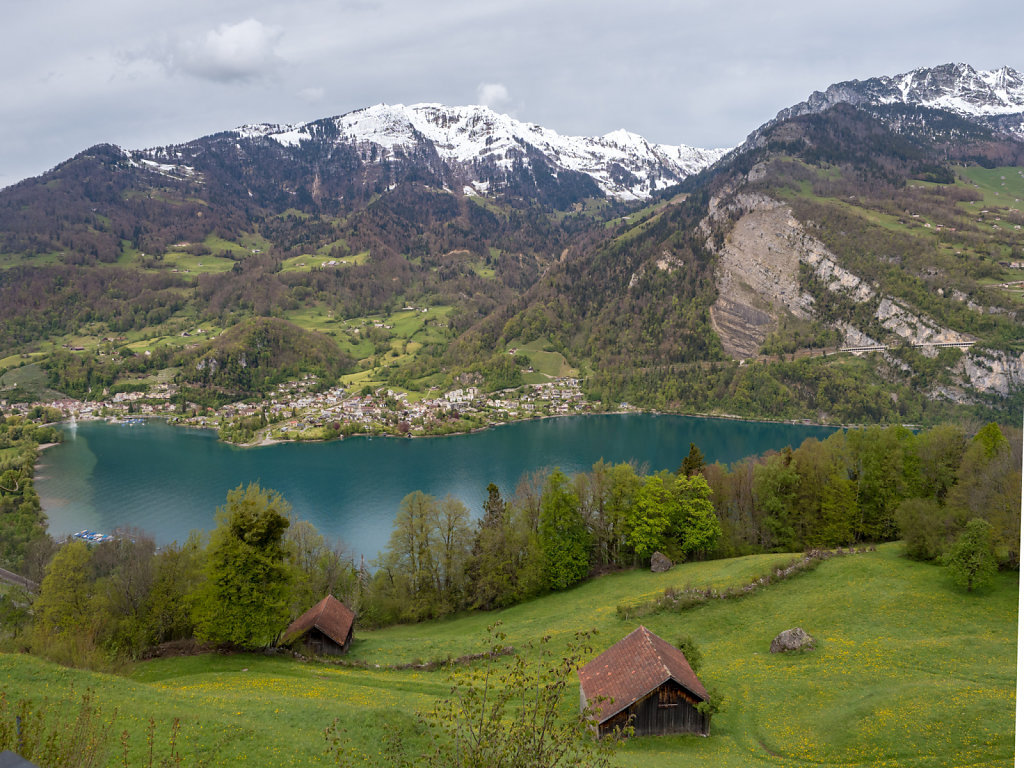 Walensee - seen from above