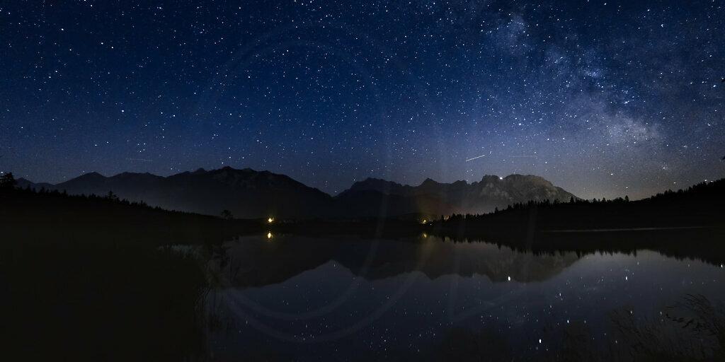 Barmsee and Milky Way